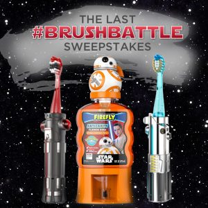 Firefly Last #BrushBattle Star Wars Sweepstakes: How to enter for a chance to win weekly prizes and one incredible grand prize | sponsor