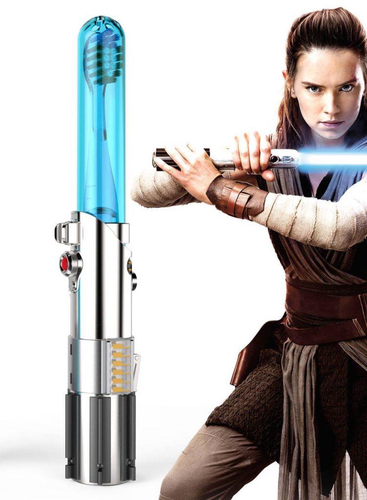 Rey Firefly Star Wars Lightsaber Toothbrush