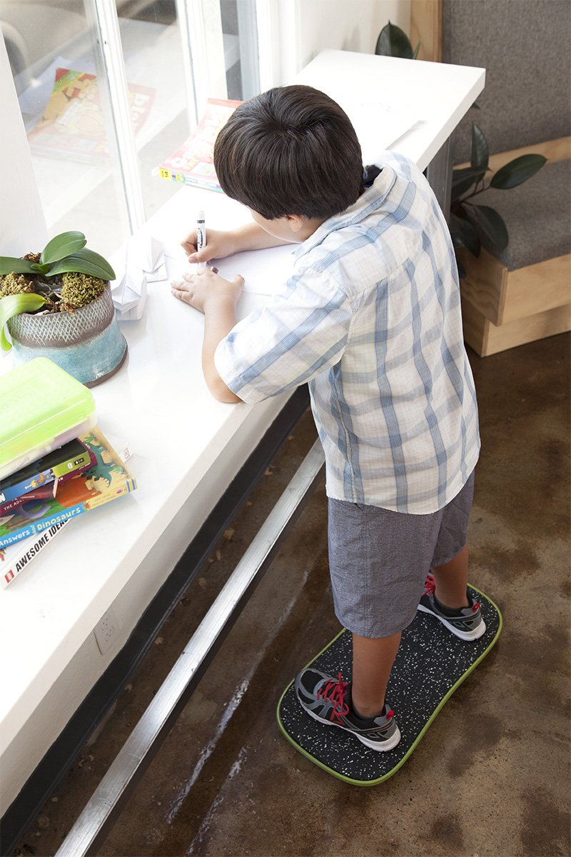 FluidStance now makes a balance board for kids to keep their bodies active while working or even playing video games