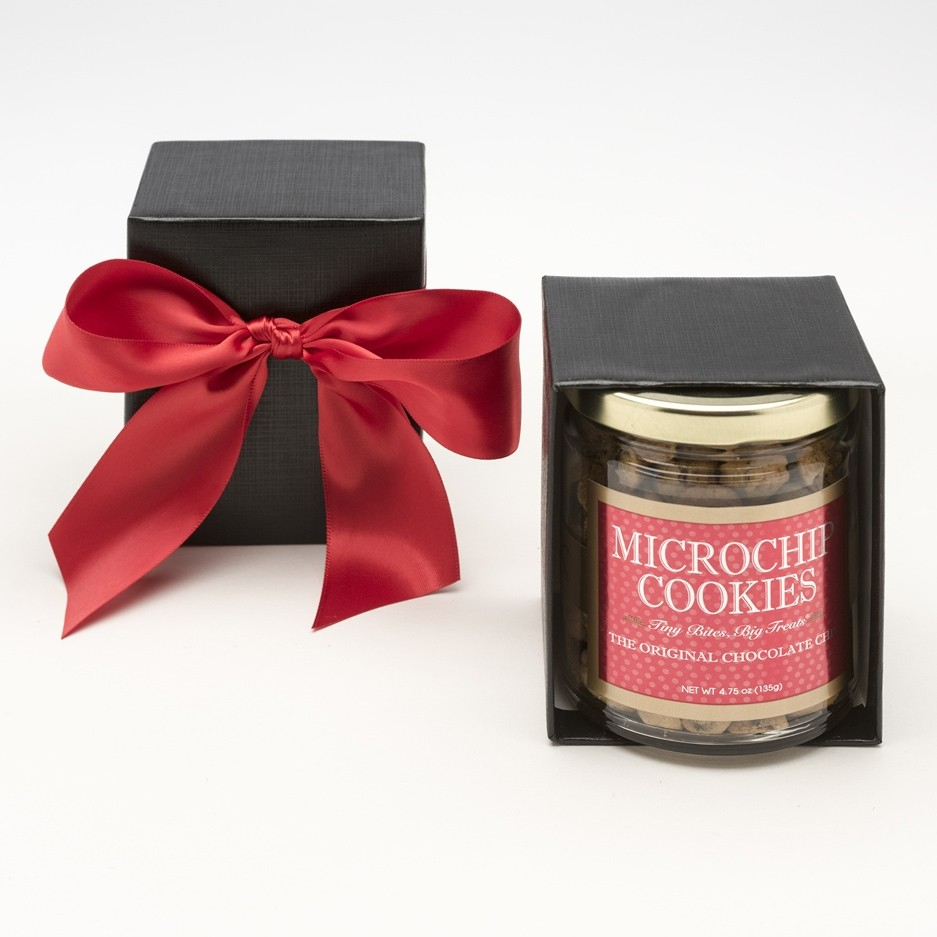 Microchip cookies from JK Chocolate: Fab, funny hostess gift for any techie friend!