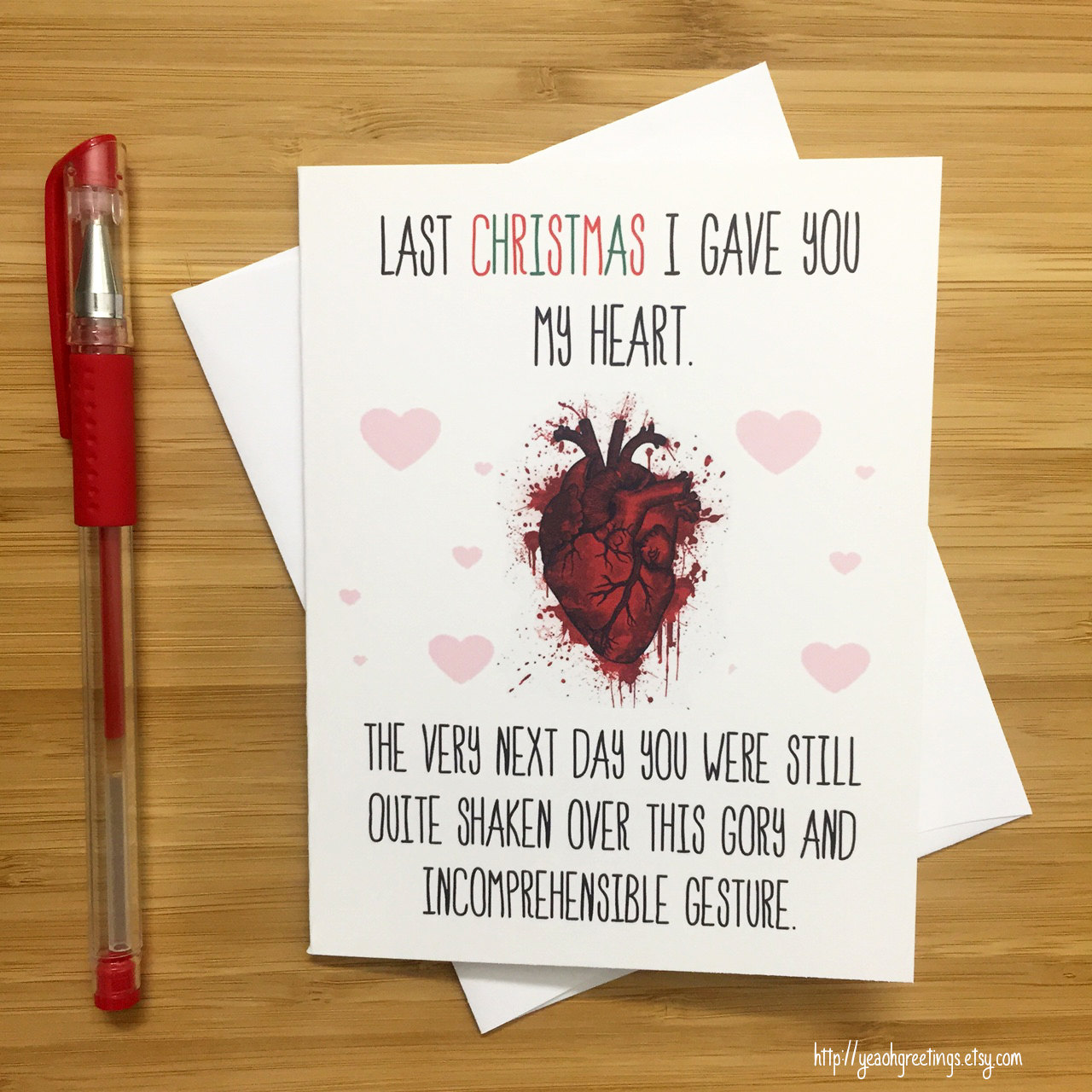 Funniest christmas cards a new spin on the last christmas i gave funniest christmas cards a new spin on the last christmas i gave you my heart song m4hsunfo Gallery