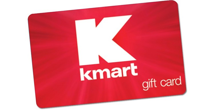 Kmart gift card: One of the gifts you can buy to make the holiday of a kid in foster care through Daymaker