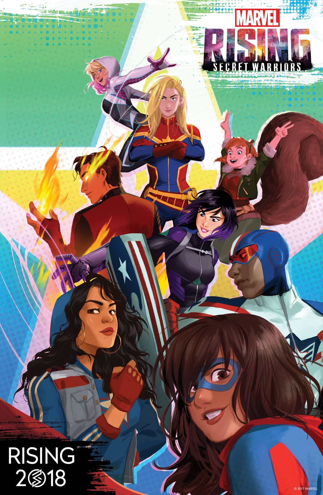 Marvel Rising: Secret Warriors is a major advancement in the diversity of the superheroes our kids have to emulate
