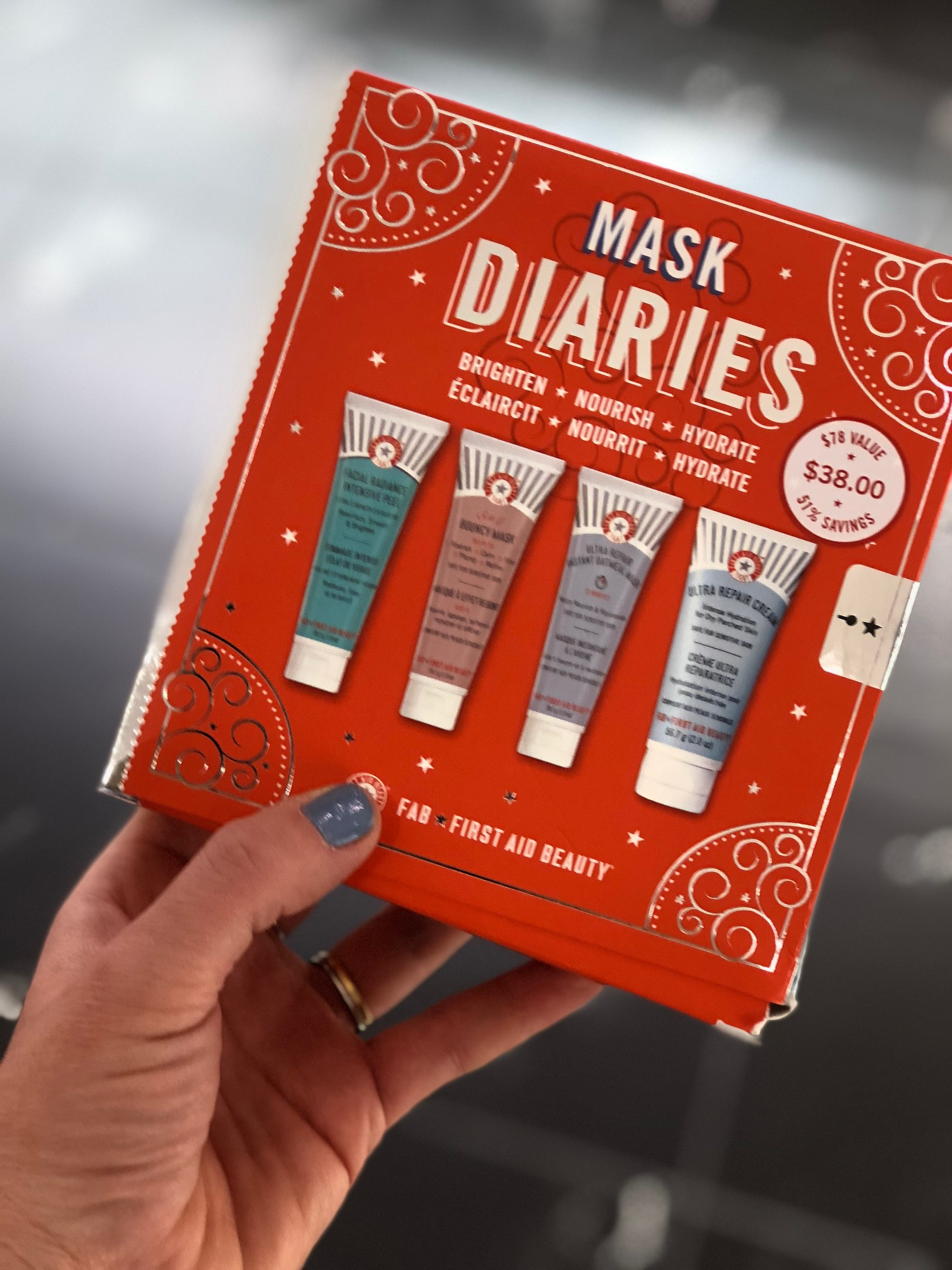 10 last-minute beauty gifts at Sephora in JCPenney: Mask Diaries from First Aid Beauty | Sponsor