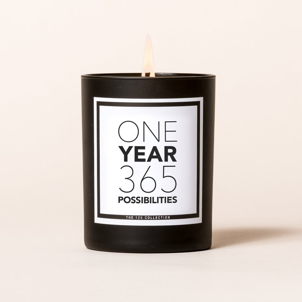 Inspirational, premium candles from The 125 collection | coolmompicks.com