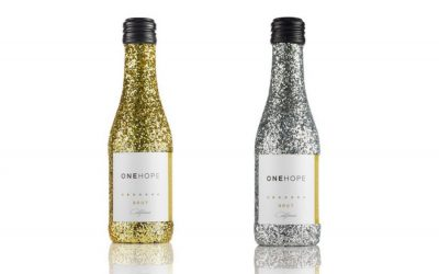 This glittery bubbly lets you start the new year off by giving back.