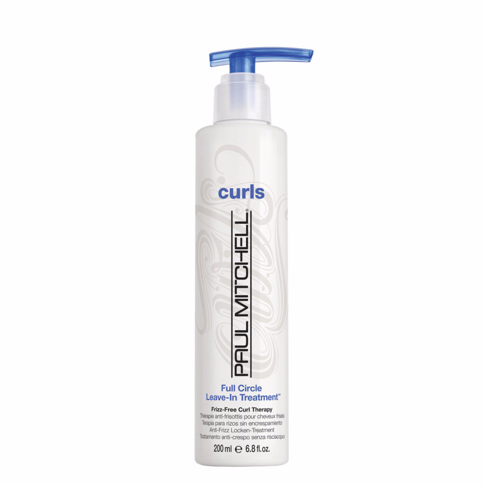 Beauty tip: Spray a little Paul Mitchell Full Circle onto hair before curling to help protect from heat and impart more shine
