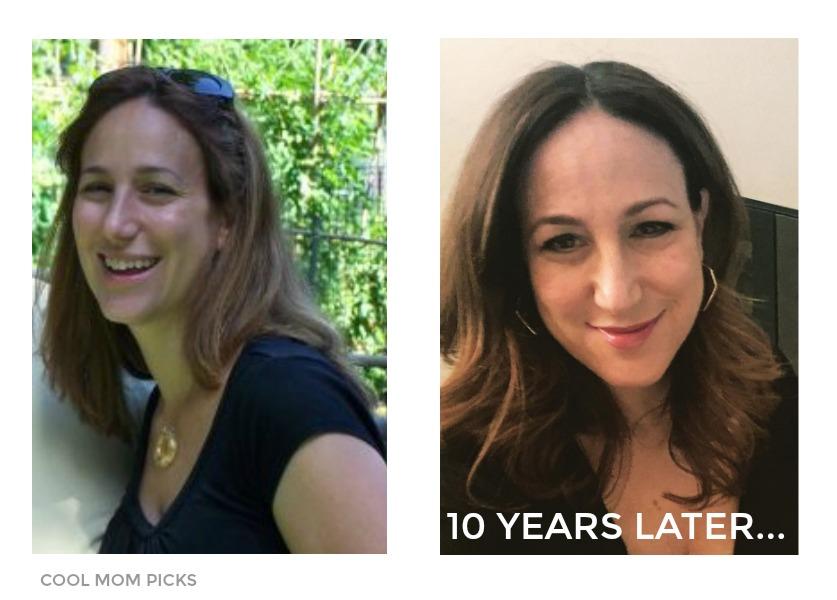 Skincare tips for aging 40-something skin: Liz Gumbinner of Cool Mom Picks