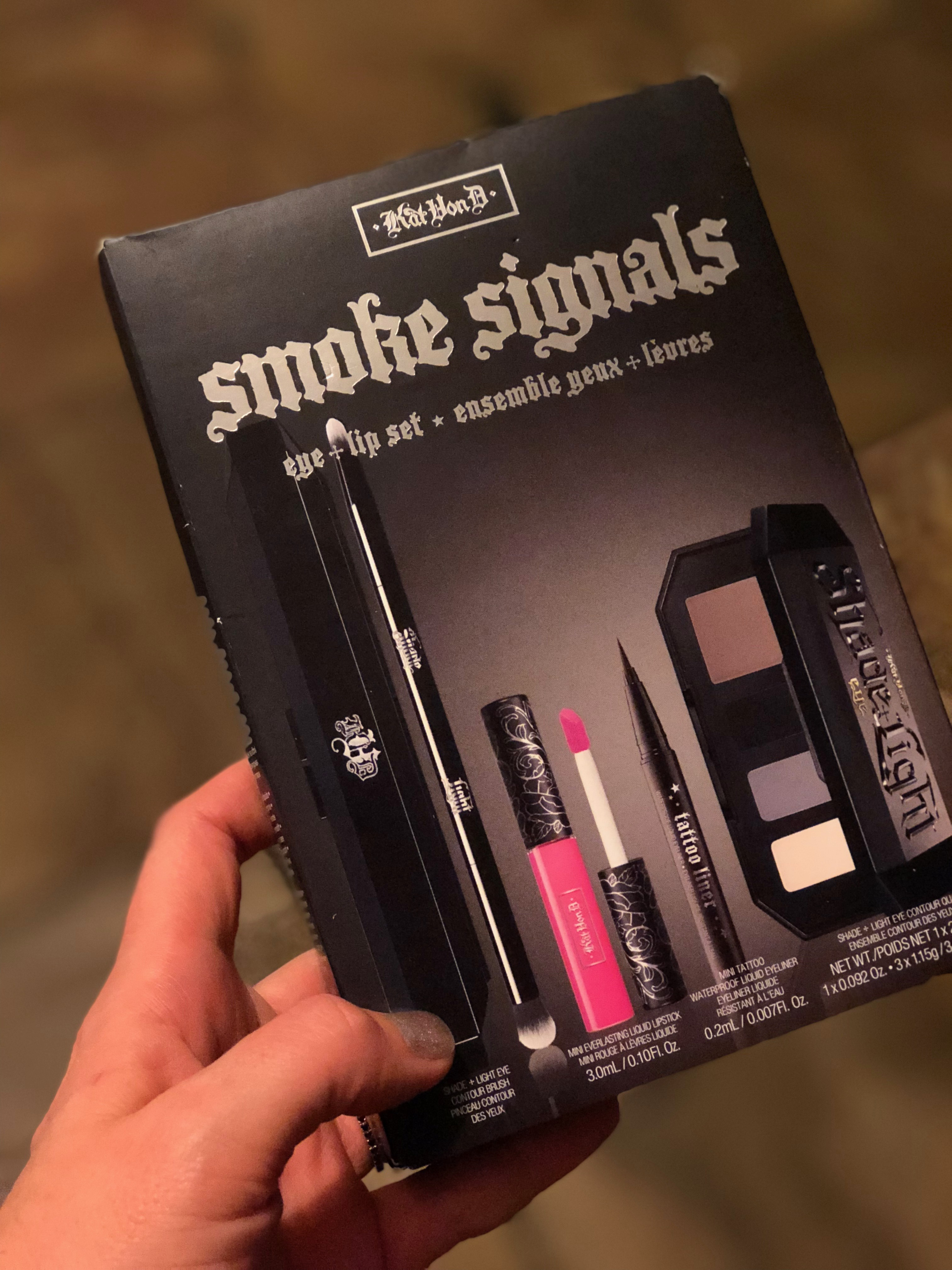 12 fabulous last-minute beauty gifts at Sephora inside JCPenney | Kat Von D smoke signals | Sponsor