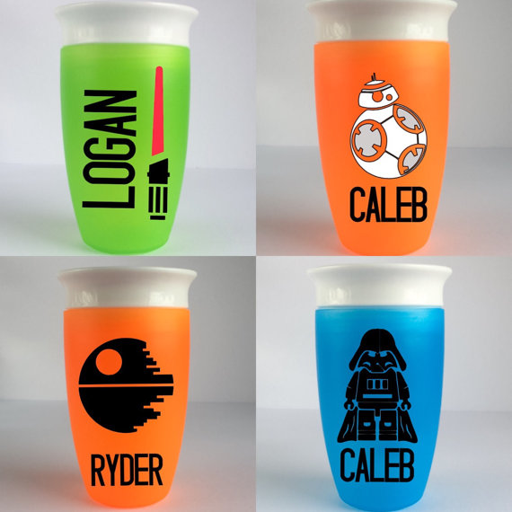 The coolest Star Wars stocking stuffers for kids: Personalized cups
