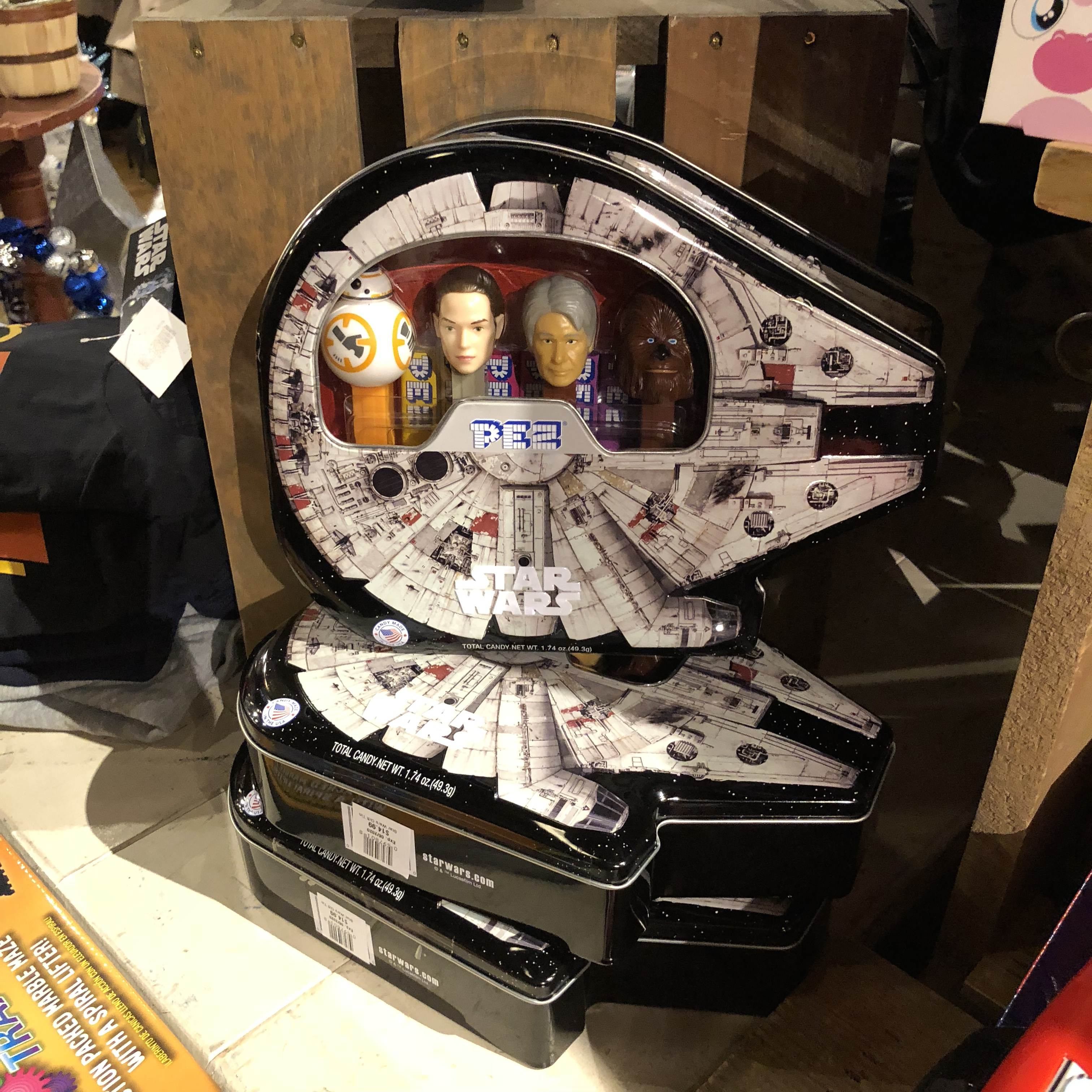 Surprising holiday gifts at Cracker Barrel: Star Wars Pez | sponsor