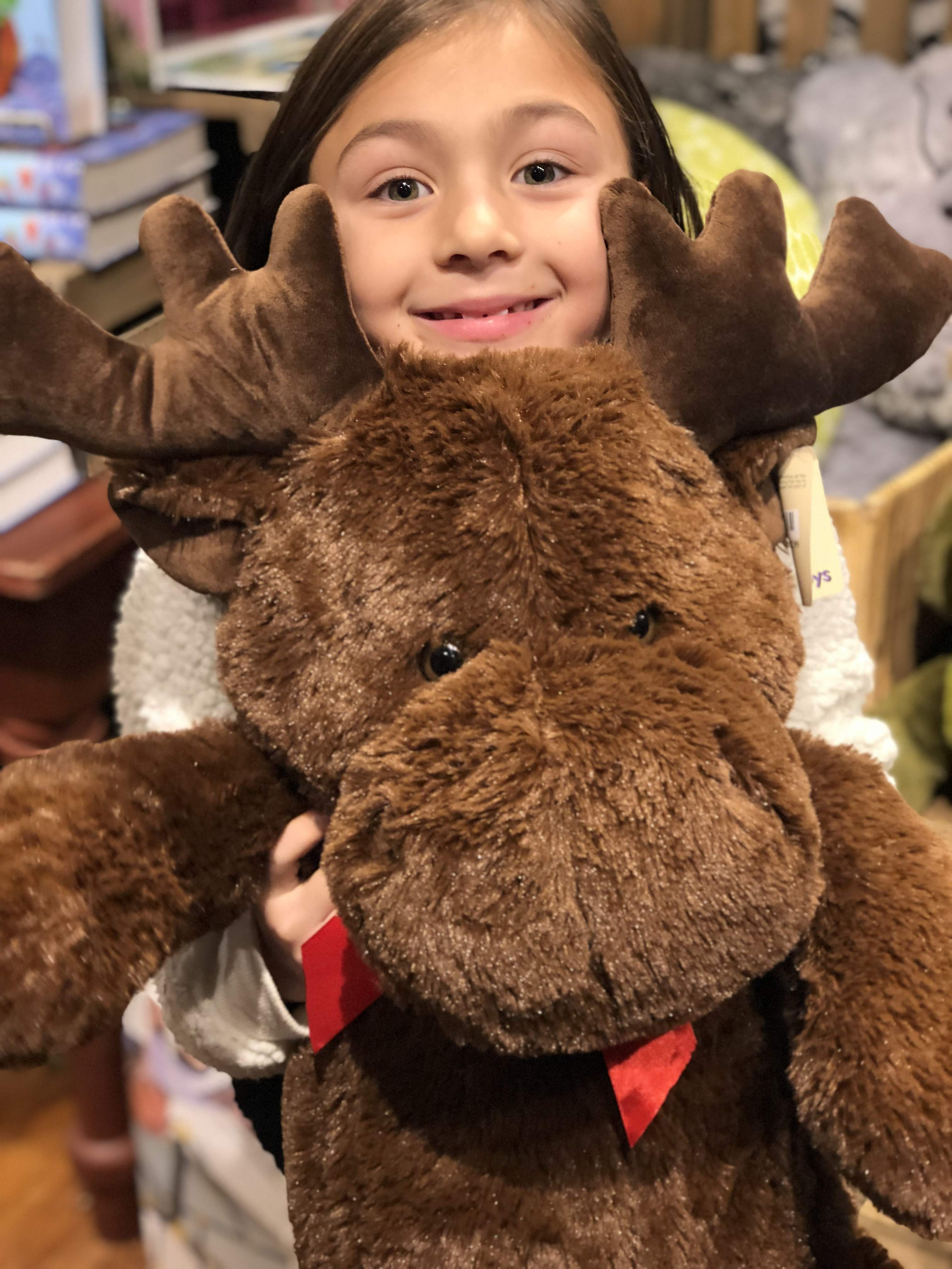 Surprising holiday gifts at Cracker Barrel: Stuffed animal moose | sponsor