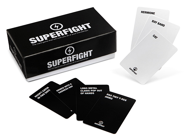 Cool gifts for tween boys (and girls): Superfight card game