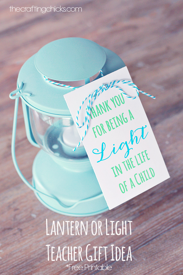 Cool printable for a teacher gift - perfect for a desk lamp if you want a more practical gift