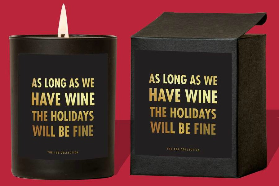 the 125 collection holiday candles