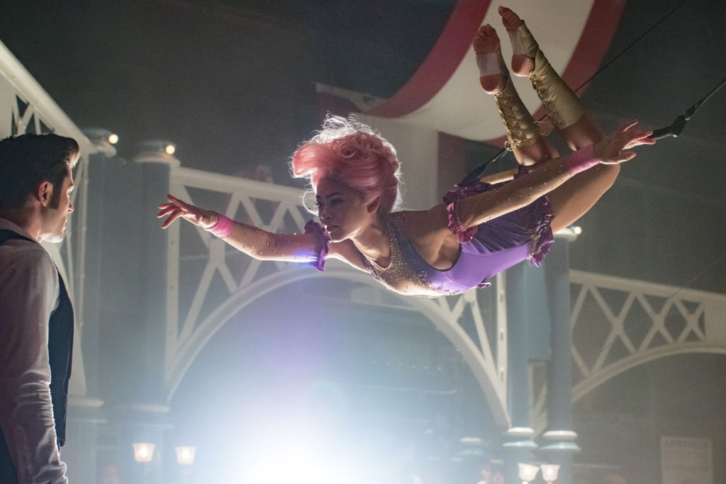 Zendaya and Zac Efron in the Greatest Showman: Amazing family film