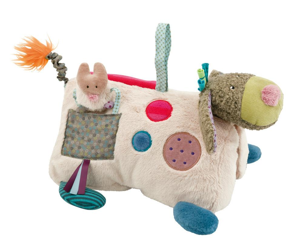 Chinese year of the dog baby gifts: Activity dog by Moulin Roty