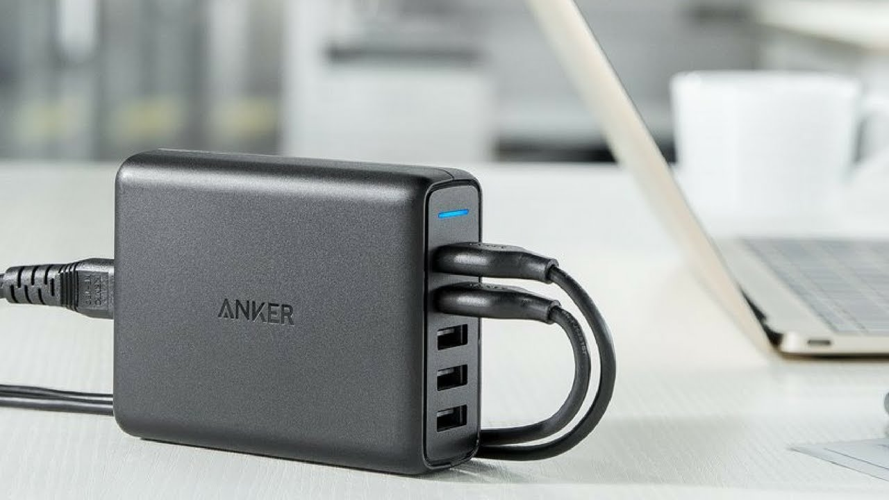 Great guest room tips: Have a multi-charging port like the Anker Power Port.