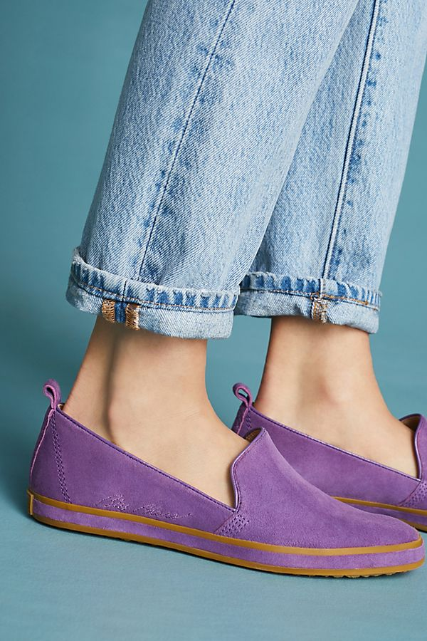 Ultra Violet accessories to rock Pantone's color of the year: Ultra Violet loafers | Anthropologie