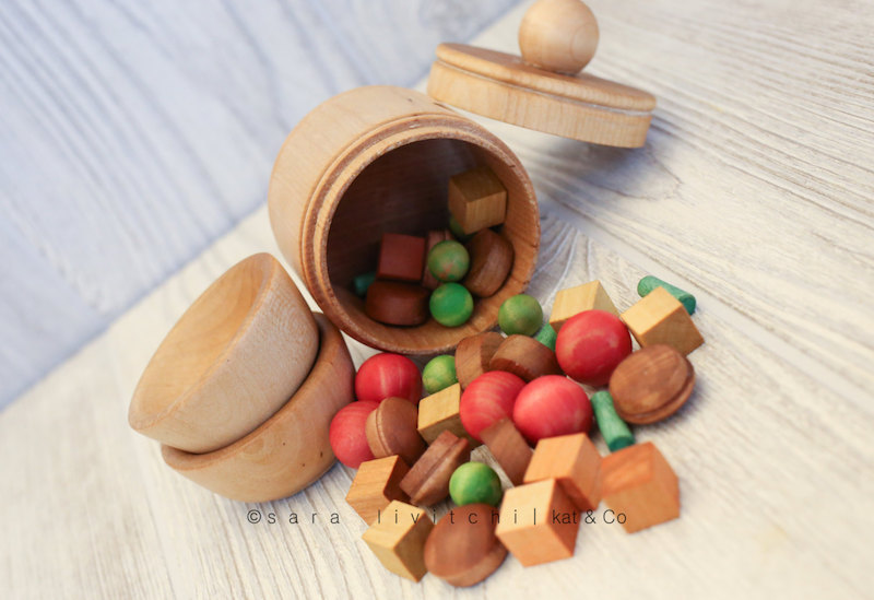 Cutest handmade play food makers on Etsy: Soup Set by Kat and Company