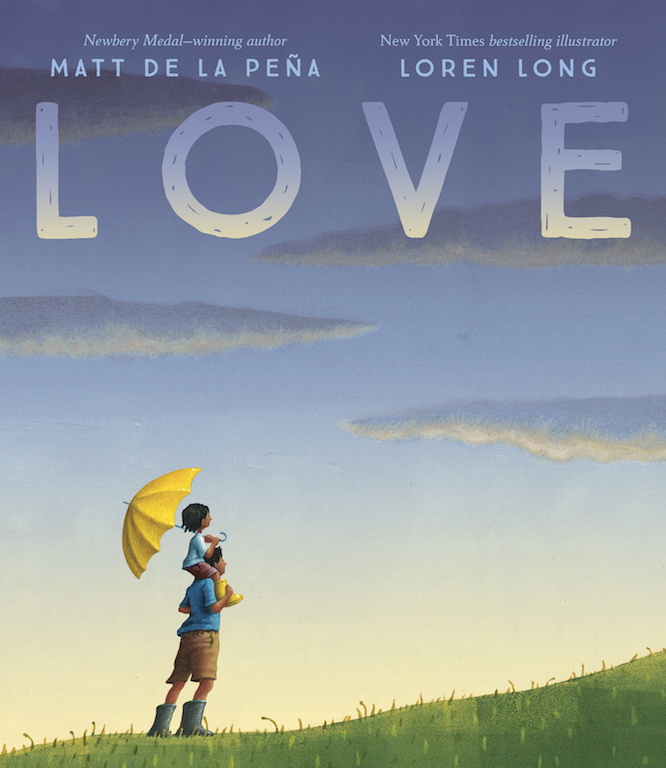 Fun, affordable Valentine's Day gifts for kids all under $15: LOVE by Newbery-winning author Matt De La Pena