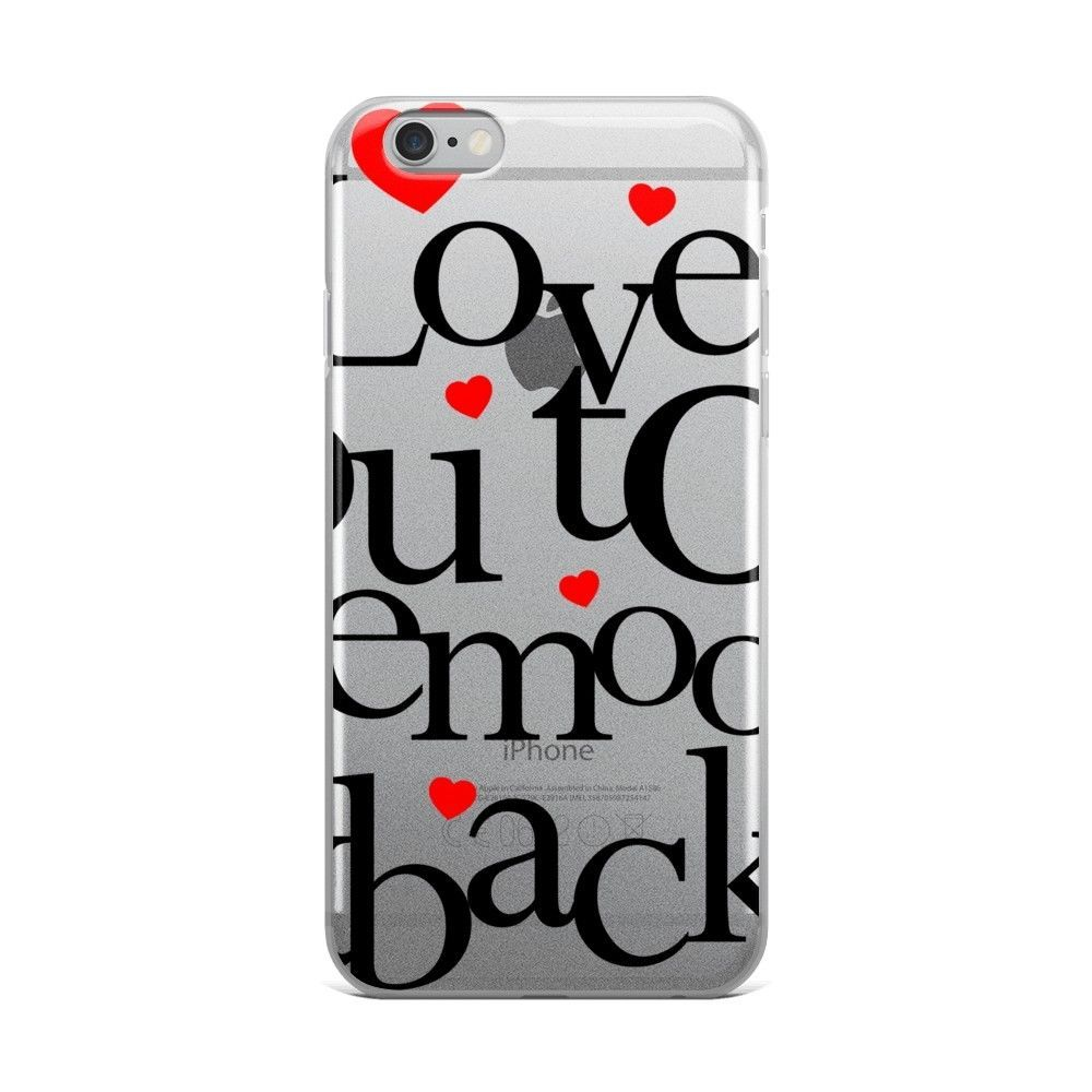 Creative Valentine's gift ideas supporting indie shops: Love you to the Moon and Back iPhone Case