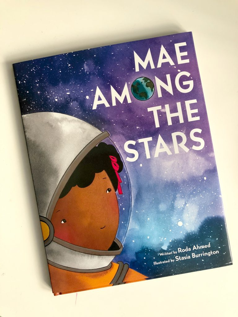 Great new biographical picture books from authors of color: Mae Among the Stars by Roda Ahmed and Stasia Burrrington