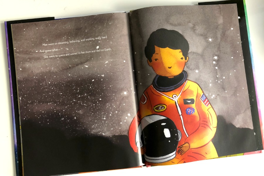 Mae Among the Stars: Beautiful picture book about astronaut Mae Jemison