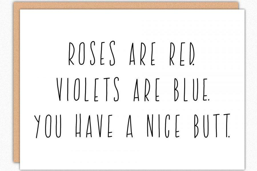 nice butt valentine's day card