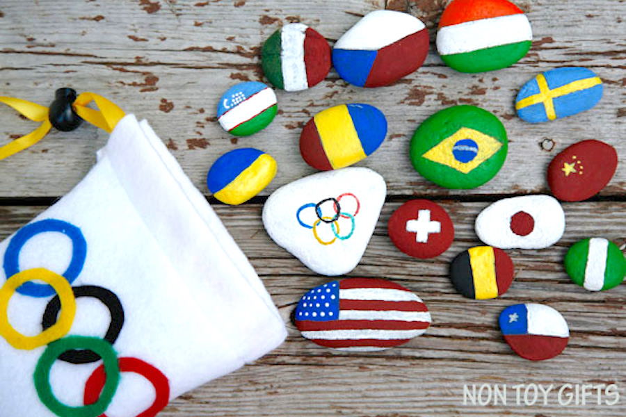 PyeongChang 2018: 9 Fun Olympics crafts to get kids excited about the winter games.
