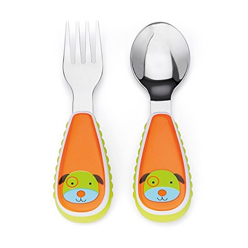 Chinese year of the dog baby gifts: Skip Hop doggie toddler utensils | Amazon