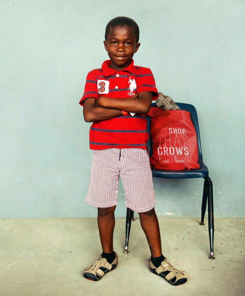 The Shoe that Grows: Brilliant invention you can support to ensure kids without shoes get shoes that last.