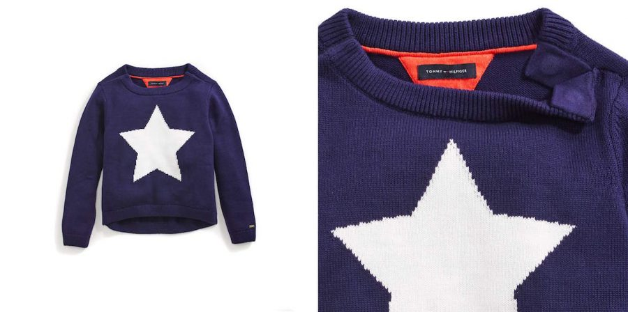 Tommy Adaptive: Tommy Hilfiger Intarsia Sweater for Girls