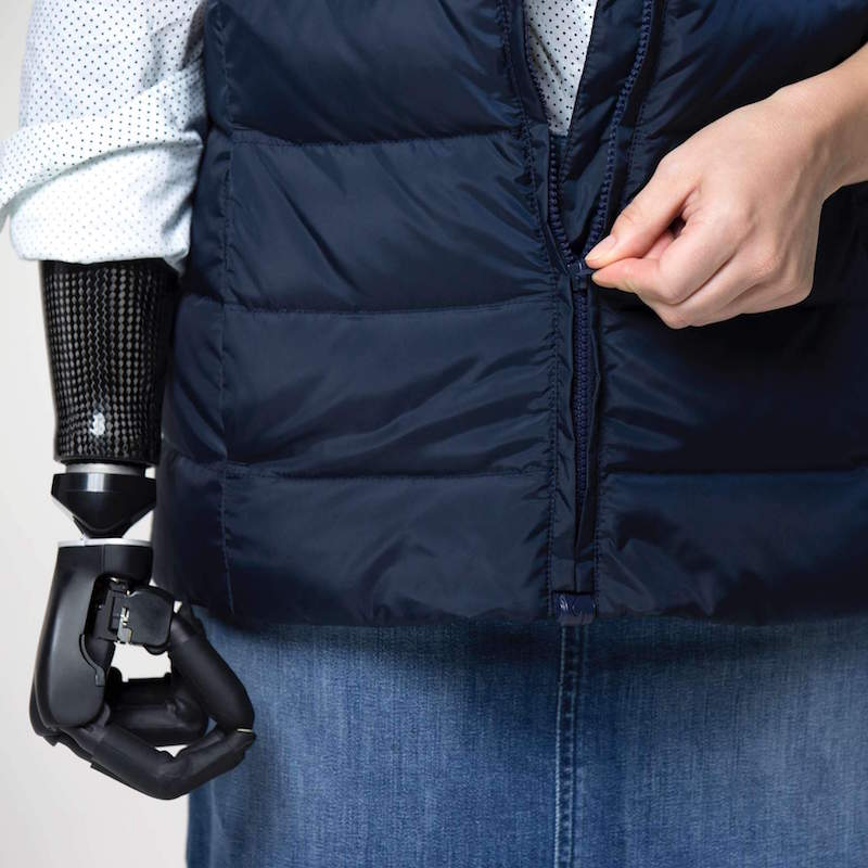 Tommy Adaptive: Tommy Hilfiger's clothing line features styles with one-handed zippers, magnetic buttons, and adjustable hems