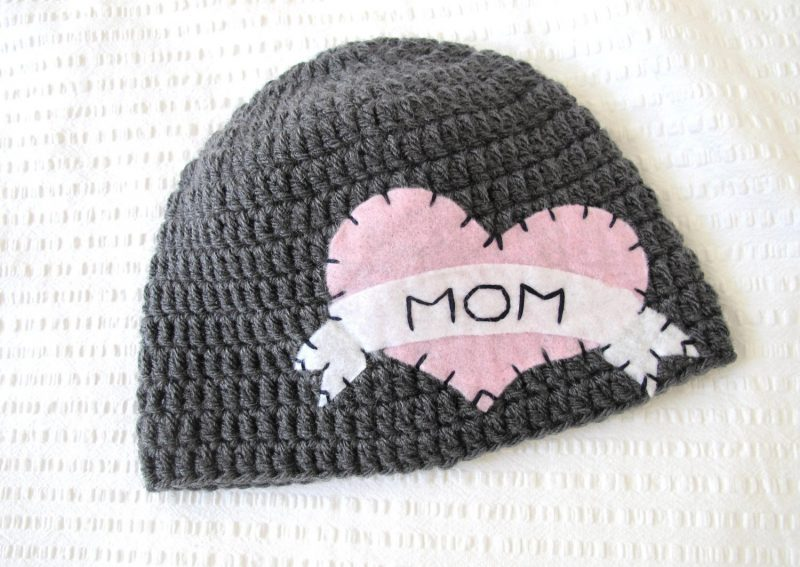Valentine's Day gifts for babies: Heart Tattoo Hat by Hunky Dori Boutique