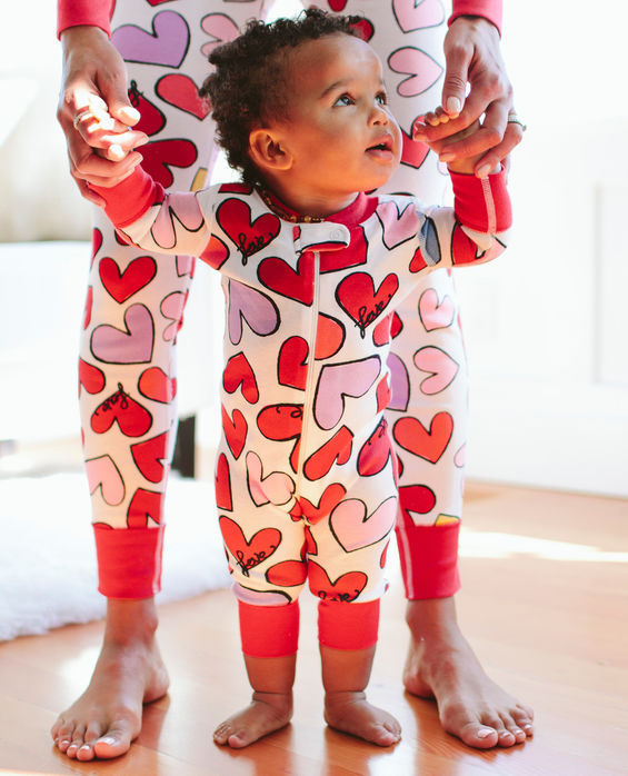 Valentine's Day gifts for babies: Organic Night Night Sleepers by Hanna Andersson