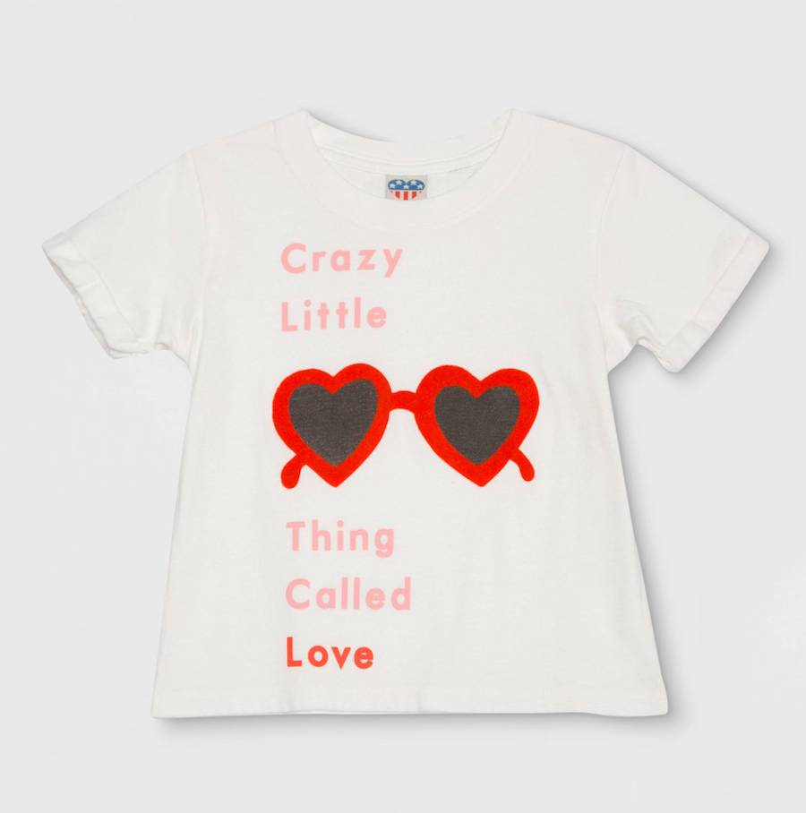 Valentine's Day gifts for kids under $15: Crazy Thing tee