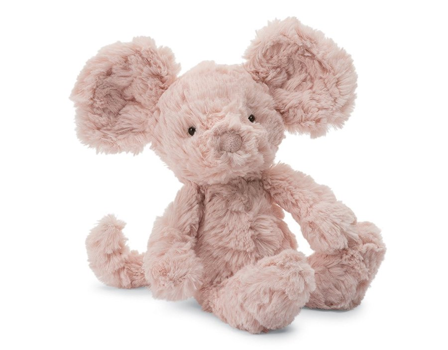 Affordable Valentine's Day gifts for kids under $15: Mouse plush by JellyCat