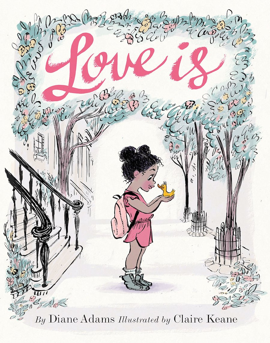 Affordable Valentine's Day gifts for kids under $15: Love Is by Diane Adams and Claire Keane