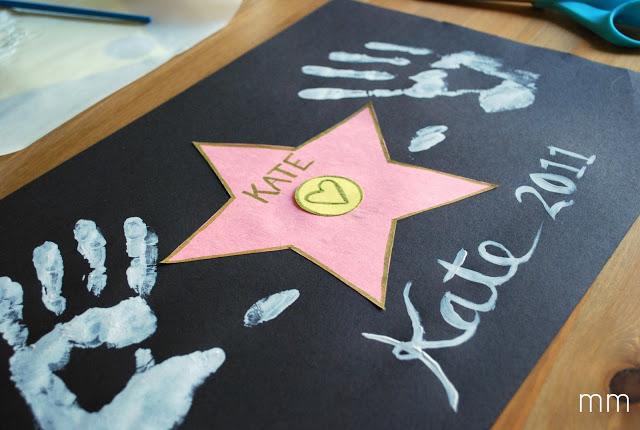 Oscar party ideas: Hollywood Star by Miranda Made