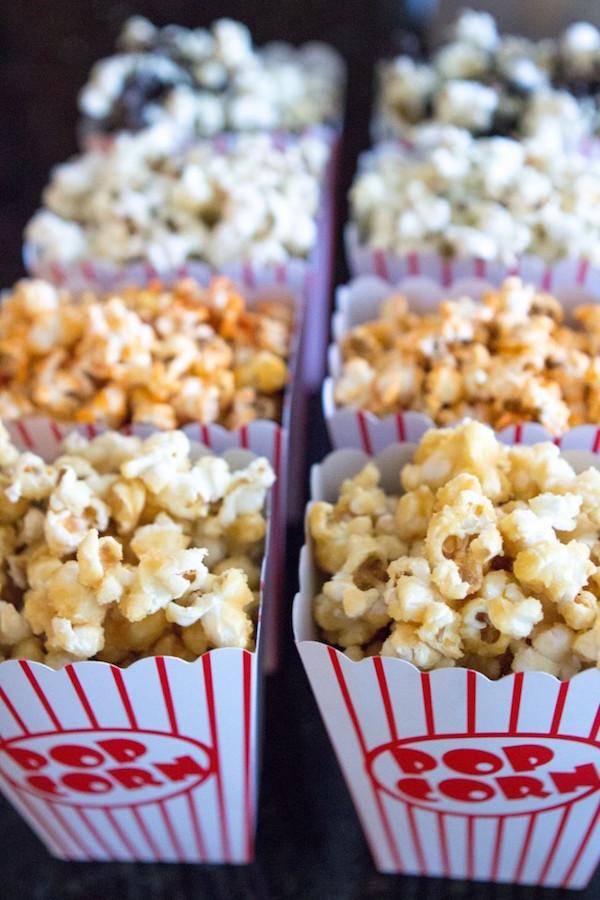Oscars party ideas: Popcorn Bar by SISOO