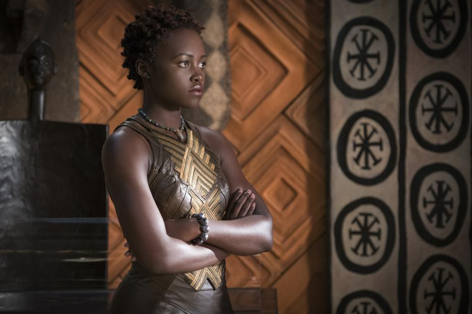Black Panther reviews from mothers of color: Lupita Nyong'o as Nakia