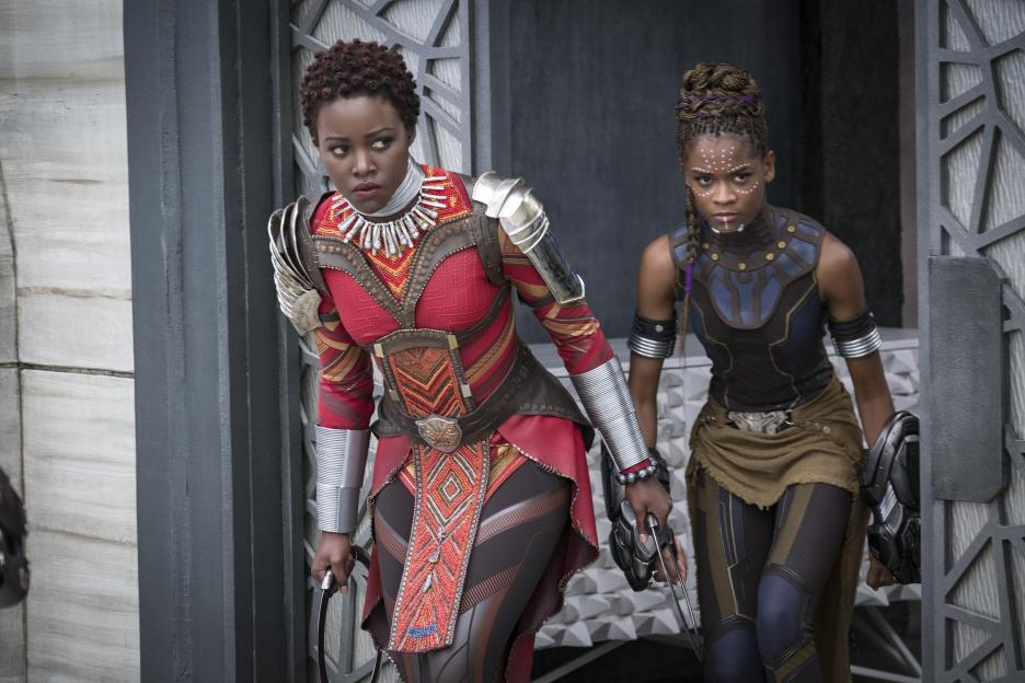 the women warriors of Black Panther
