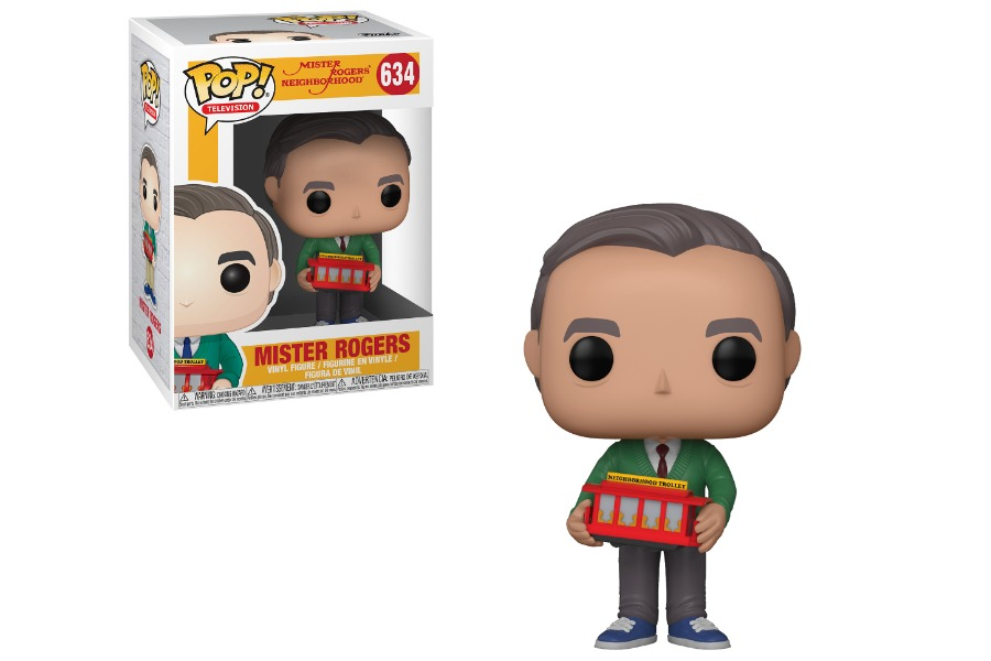 It's a beautiful day in the neighborhood. The Mister Rogers Funko Pop! collection is coming!