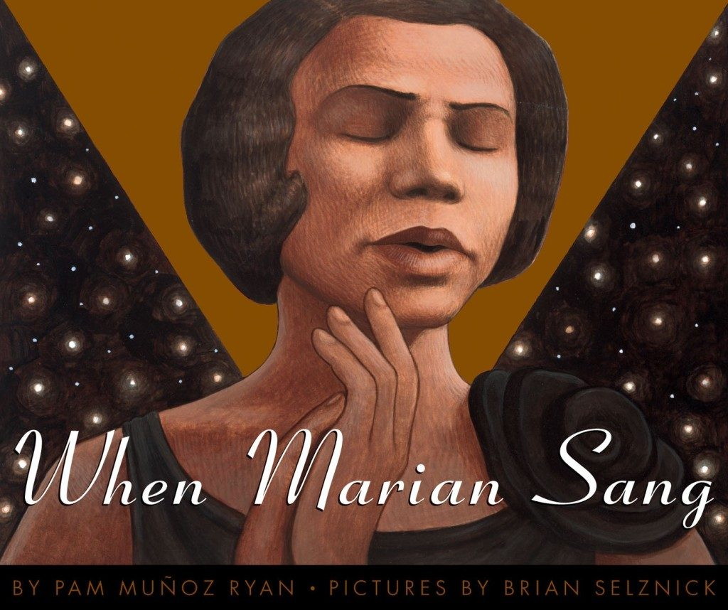 Children's books about African American singers for Black History Month | When Marian Sang: The True Recital of Marian Anderson