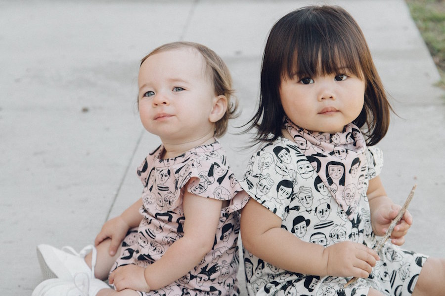 Kira Kids' Artists in History print from its new spring collection