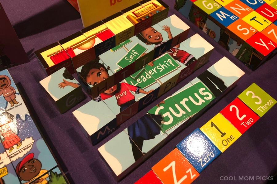 Bevt & Dave History Makers Puzzle Blocks for Kids: A standout from Toy Fair 2018 | Cool Mom Picks