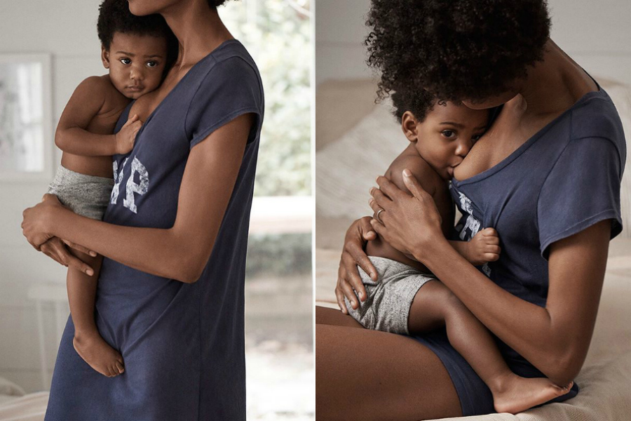 The pro-breastfeeding Gap ad that has us cheering. And melting.