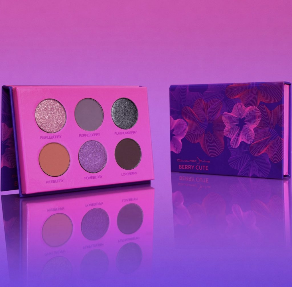 Coloured Rain high-pigment eyeshadow palettes | Favorite POC-owned beauty brands