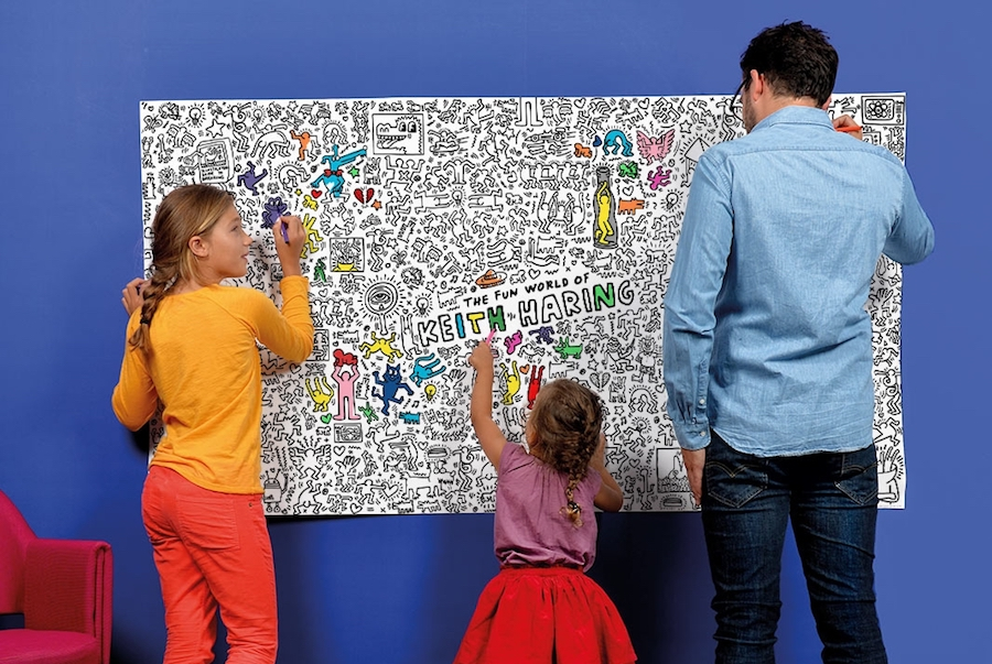 Let Keith Haring make your kids into the next Keith Haring